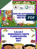 Formato de Planificación Del Mes de Mayo de Preescolar F