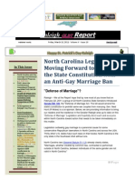 Raleigh GLBT Report March 18, 2011
