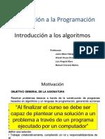 Introducción a los Algoritmos
