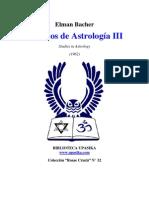 Bacher Elman - Estudios de Astrologia 3