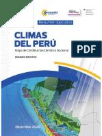 Resumen Ejecutivo Climas Del Peru