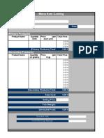 Menu-Costing-Form