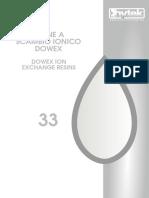 33 - Resine a scambio ionico Dowex