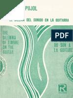 1979 Emilio Pujol El Dilema Del Sonido en La Guitarra
