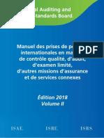 Manuel IAASB Edition 2018 Vol II