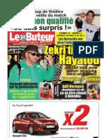 LE BUTEUR PDF du 20/03/2011