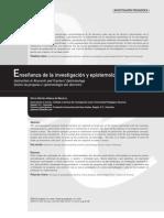 Aldana- Enseñanza de la investigacion y epistemologia de los docentes
