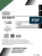 JVC KD-S891R