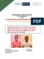 Rapport Tp1 (Da Et Bonlougou)