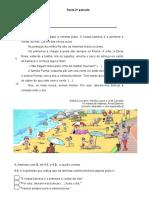 Teste Avaliacao Trimestral Portugues 2 Ano Junho