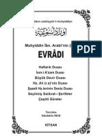 Evradun-Usbuiyyeh-Muhyiddin-İbn-Arabi