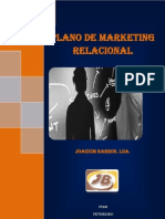 Plano de Marketing Relacional Joaquim Barros