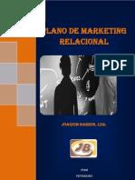 Plano de Marketing Relacional Joaquim Barros