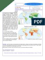Agricultura e Fome no Mundo - Questão do vestibular com embasamento teórico