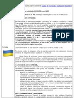 Actualizarea alertei de călătorie în Ucraina - 09.06.2021