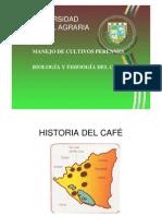 BIOLOGÍA Y FISIOLOGÍA CAFÉ