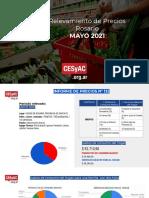 Relevamiento de Precios CESyAC MAYO 2021 · Rosario