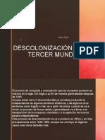 Descolonización y El Tercer Mundo