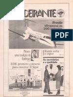 Revista Bandeirante de 1990 Jogo de Pitoco