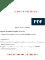 Travaux de Fin d'Exercice l2 3019-2020-1