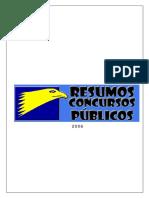 RESUMO DE ORÇAMENTO PÚBLICO. Apostila Para Concursos Públicos