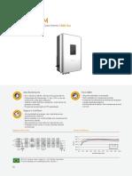 Sungrow Datasheet SG20KTL-M PTBR