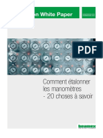 Beamex White Paper - How to calibrate pressure gauges FRA