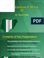 Nigeria Elections of '99 and '03