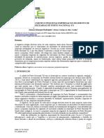 A logistica das micro e pequenas empresas do segmento de mercearias de porto nacional-to