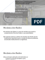 Aula 02 - Introdução a Hidraulica e Pneumatica