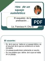 Las Partes de La Formulacion Homiletico PDF