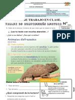 GUIA DE COMPRENCION LECTORA_2° BASICO el camaleon