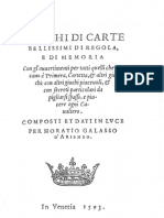 Giochidi Carte Belissimi Diiregola 1593