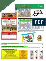 Resultados da 16ª Jornada do Campeonato Distrital da AF Portalegre em Futsal