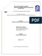 P5 Destilación diferencial de una mezcla binaria