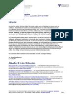 [DE] PROJECT CONSULT Newsletter Information Management News - April - 2021 - ISSN 1349-0809