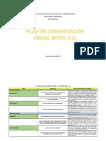 PLAN DE COMUNICACION SECCION 292A1 JUAN AFANADOR