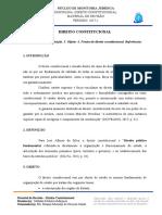 Resumo 1º Estágio - Direito Constitucional
