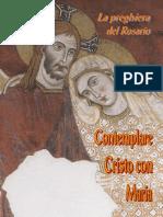 01 La Preghiera Del Rosario Contemplare Cristo Con Maria