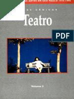 Ana Maria Rebouças, Heloisa Margarido Sales e Maria Thereza Vargas - Cronologia Das Artes Em São Paulo, 1975-1995