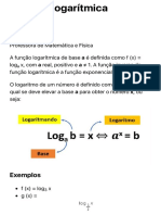 Função Logarítmica - Toda Matéria