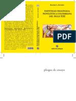 Book Identidad Imaginada Novelística Colombiana siglo XXI Final