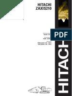 Especificaciones Zaxis 210 (DW)