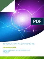 Les Formules de l'Économetrie