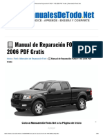 ? Manual de Reparación FORD F-150 2006