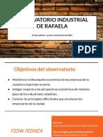 Observatorio industrial. Octava edición. Ene-Abr. 21