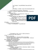 Workshop Presenter's Notes