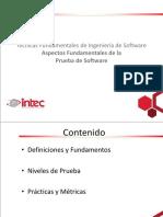 INTEC - IDS323 - 6 - Aspectos Fundamentales de la Prueba de Software