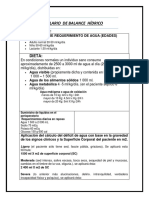 Formulario de Balnce Hidrico Completo