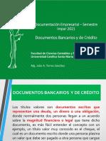 DOCUEMNTOS BANCARIOS PARTE I